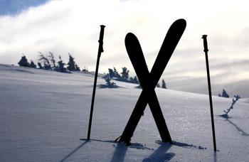 Skiing near The Sullivan.