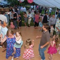 Family Dancing On Dance Floor at  Hood Canal Cottages