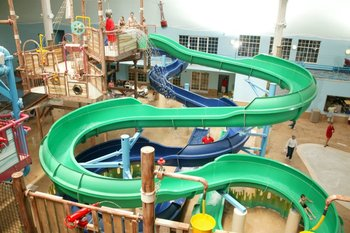 Indoor Waterpark at Blue Harbor Resort & Spa