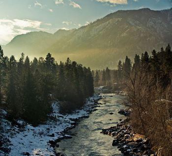 Scenic view near Obertal Inn.