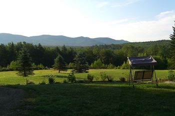 Beautiful View at Robert Frost Mountain Cabins