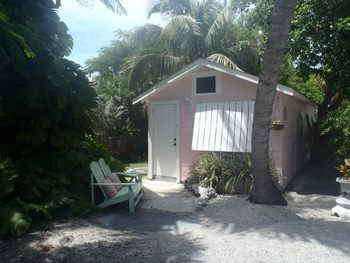 Cottage exterior at Tropical Cottages.