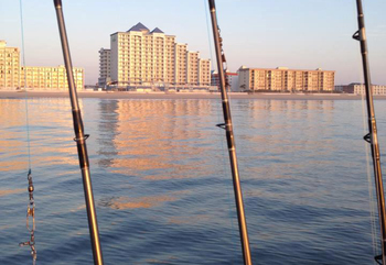 Fishing at Holiday Inn Suites Ocean City.
