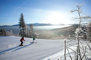 Skiing near Royalty Inn.
