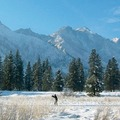 With Mission Ridge to the East, Stevens Pass to the West and 8 km of track and skate lanes at the doorstep, Sleeping Lady is a skier's paradise!