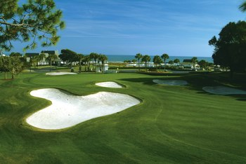 Dunes Club golf course near Mar Vista Resort Grande.