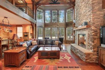 Vacation rental interior at Vacasa Rentals Sunriver.