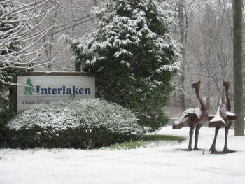 Winter time at Interlaken Resort & Conference Center.