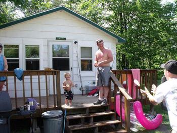 Cabin at Camp Pennington.