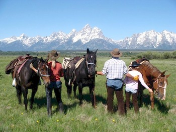 Horseback Riding at Moose Head Ranch