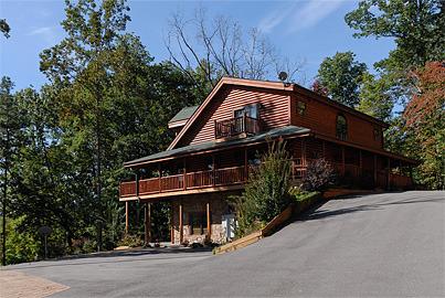 Sevierville vacation rentals cabin grace manor 6 for 6 bedroom cabin rentals in gatlinburg tn