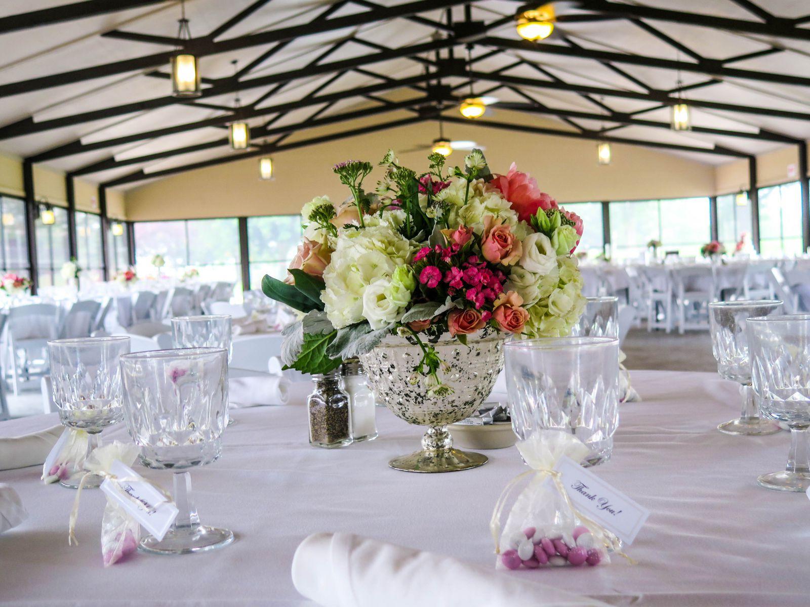 Wedding reception at Coachman's Golf Resort.