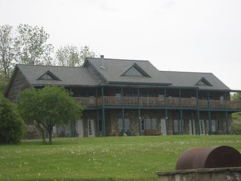 Exterior view at Seneca Springs Resort.
