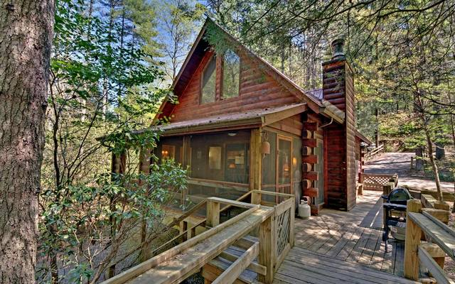 Sliding rock cabins ellijay ga resort reviews for Large cabins in north georgia mountains