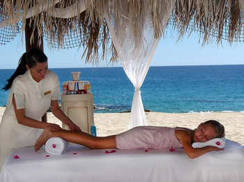 Spa Massage at Hilton Los Cabos Resort