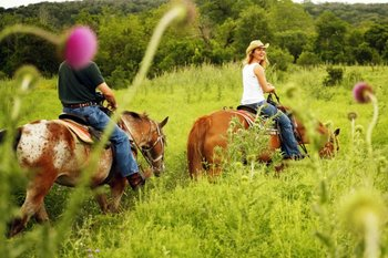 Horseback Riding at Running-R Guest Ranch