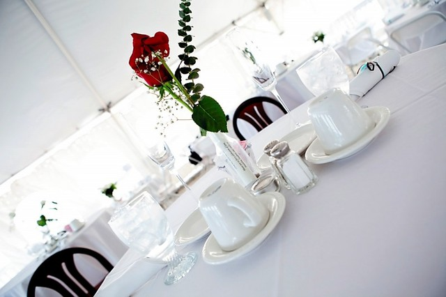 Wedding venue at ParkShore Resort.