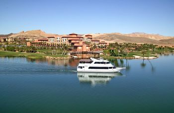 Lake view at The Westin Lake Las Vegas Resort & Spa.
