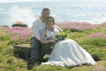 Wedding Couple at Eagles Nest Resort