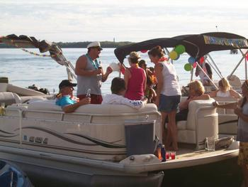 Boat rental at Holiday Inn Detroit Lakes.