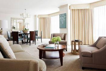 Guest Suite at the Four Seasons Hotel - Houston