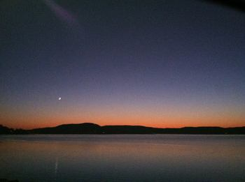 Lake view near Cabin Fever Resort.