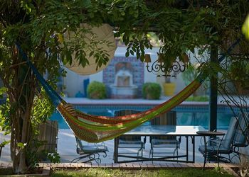 Hammock at Vacation Living Los Angeles.