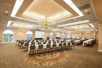Conference room at Heidel House Resort.