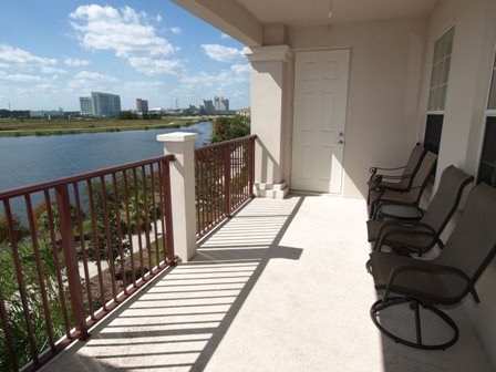 Private Balcony through Florida Condos 4 Rent
