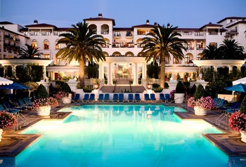 Outdoor pool at St. Regis Monarch Beach.