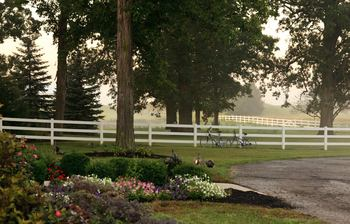 Scenic views at HideAway Country Inn.
