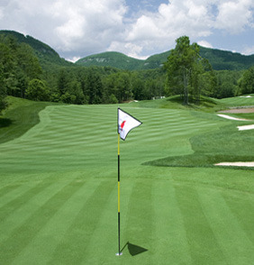 Golf Course at The Greystone Inn