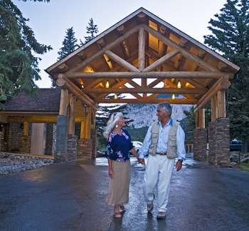 Romantic Walks at Mt. Princeton Hot Springs Resort