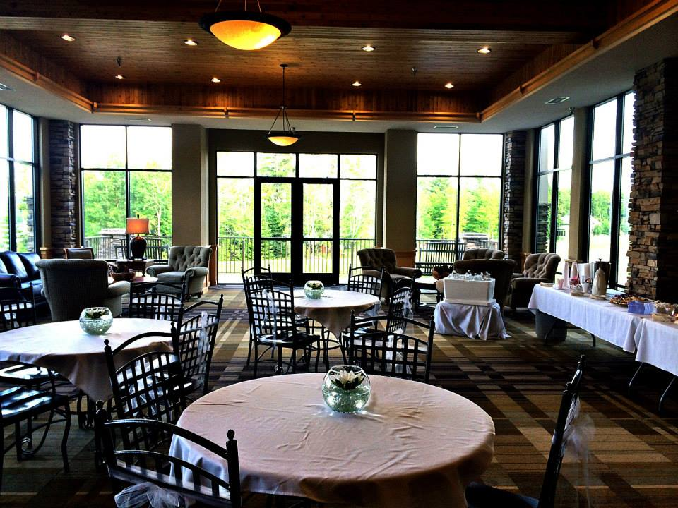 Dining room at Northernaire Resort.