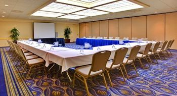 Large meeting room at Wyndham San Diego Bayside.