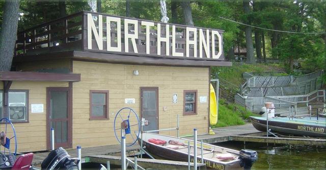 Exterior view of Northland Resort.