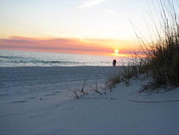The beach at Destin Gulfgate Condominiums.