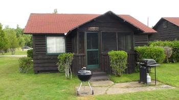 Cottage exterior at Ampersand Bay Resort & Boat Club.