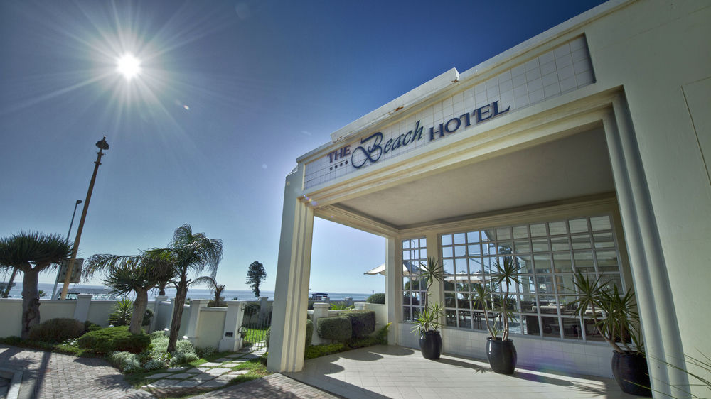 Exterior view of Beach Hotel.