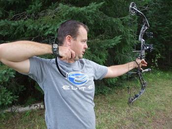 Bow hunting at Olive the Lake.