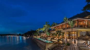 Exterior view of Four Seasons Resort - Bali at Jimbaran Bay.