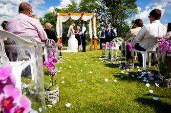 Wedding at Chula Vista Resort.