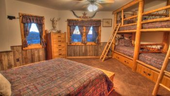 Vacation rental bunk room at SkyRun Vacation Rentals - Telluride, Colorado.