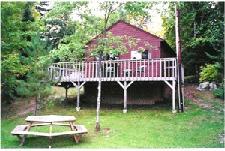 Exterior Cabin View at Glenmore Resort