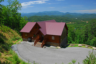 Sevierville vacation rentals cabin above the smokies for Timber tops cabins gatlinburg