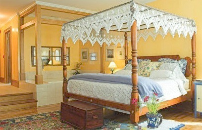 Guest Room at White Lace Inn