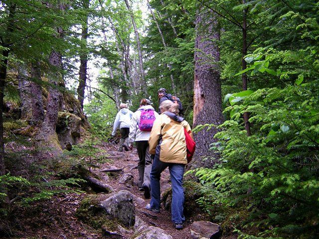 Hiking at Silver Creek Plunge