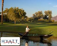 Boating by at Hyatt Regency Gainey Ranch