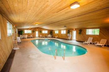 Indoor Pool at the Nordic Lodge