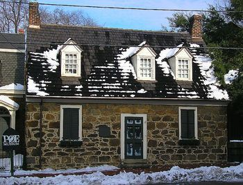 Birthplace of Edgar Allen Poe near Grace Manor Inn.